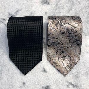 Pierre Cardin 100% Silk Men's Neck Ties